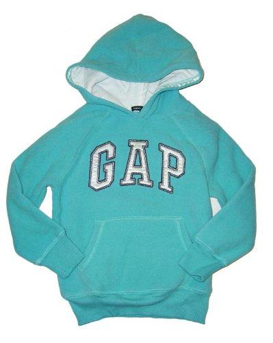 gap-kids-hoodie-sweatshirt-fleece-turkis-mit-logo-gr-104-110-us-5-aus-usa