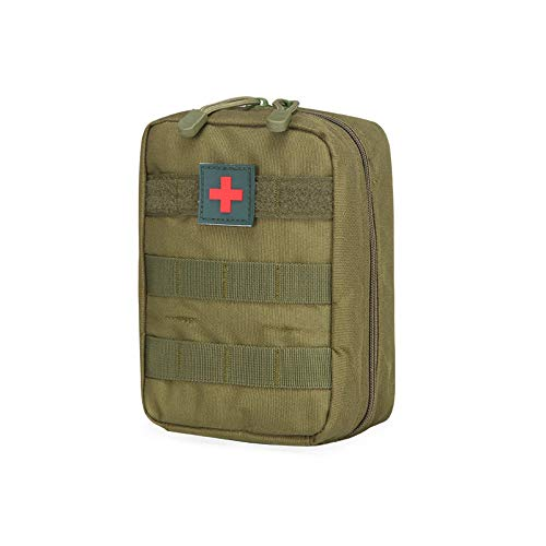 Mcdobexy Tactical MOLLE ifak Medical Utility Tasche Erste Hilfe Patch, Armee-grün