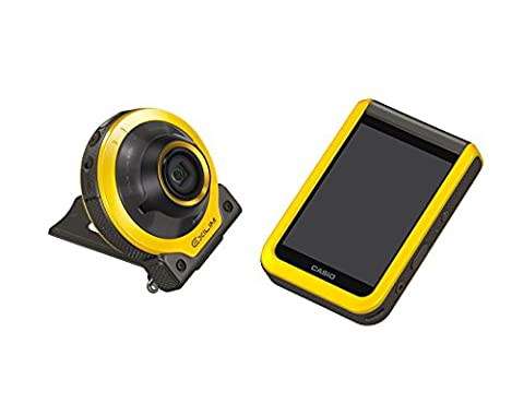 Casio Exilim EX-FR100YWECC Outdoor-Kamera Actioncam - gelb (10,2 Megapixel, 16mm Weitwinkel, 3