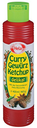 hela Curry Spezie Ketchup delicato 400ML