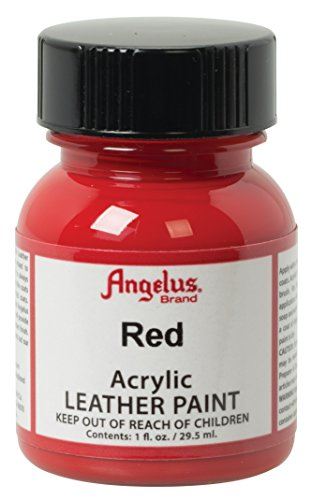 Angelus in pelle vernice 1 Oz Red