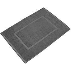 VALNEO alfombra de baño en antracita gris tamaño: 50 x 70cm en calidad Premium 650 g/m² alfombra de baño alfombrilla de baño I con 2 años de garantía de satisfacción