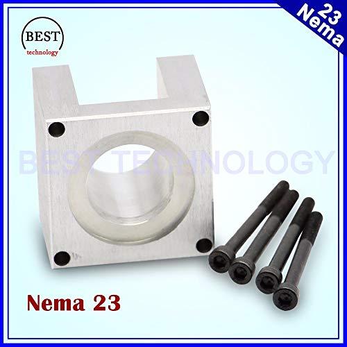 Laliva Tool - ! NEMA23 Schrittmotor Zubehör Halterungen Halterung Halterung Regal Nema 23 Schrittmotor Montagehalter