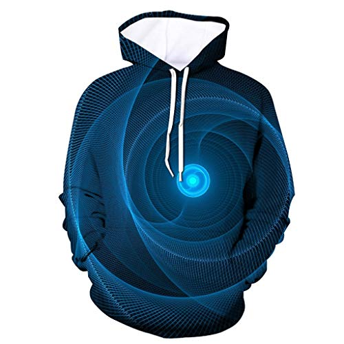 Lustige Kostüm Eisbär - LIMITA 3D gedruckte Herrenjacke Unisex Langarm Kapuzenmantel Lustiger Hoodie Bluse Tops Pullover mit Nebeldruck