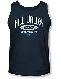 Straight Outta Hill Valley Damen T-Shirt Back To Zurück in Future die Zukunft