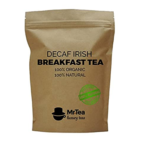 Decaffeinated Irish Breakfast Tea - Loose-Leaf Luxury Breakfast Tea -