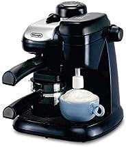 ماكينة تحضير القهوة بالبخار من ديلونجي - بلون اسود، بموديل EC9
