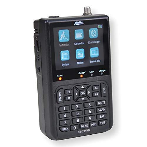 Summit SM 201HD Messgerät für DVB-S/S2 mit 3, 5