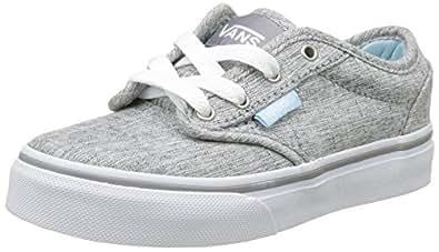 Vans Mädchen My Atwood Sneakers, Grau (Menswear Gray/Crystal Blue), 27 EU