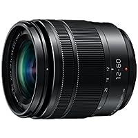 Panasonic H-FS12060E LUMIX G Vario 12-60 mm F3.5-5.6 ASPH. Objektiv (5x Zoom, Power O.I.S. Bildstabilisator, Staub-/ Spritzwasserschutz) schwarz