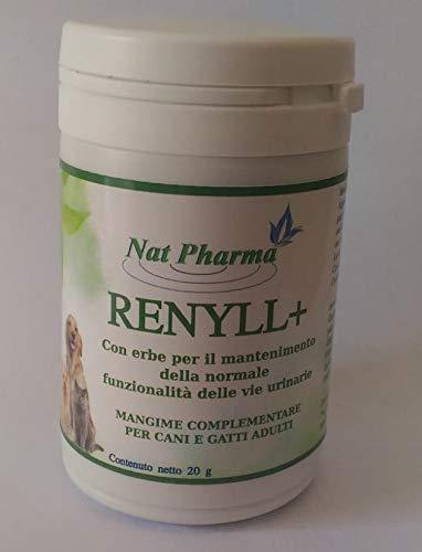 RENYLL + 20gr Promueve el Bienestar Normal del tracto urinario Superior de Perros y Gatos: prevención y Remedios Naturales para los cálculos renales