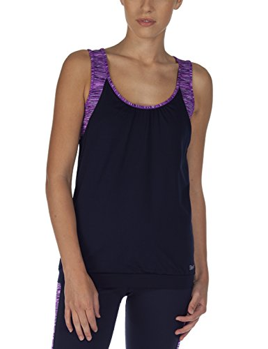 Bench Damen Tank Top Legit, Total Eclipse, S, BLGF0122