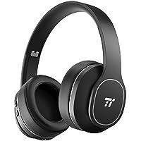 Active Noise Cancelling Kopfhörer ANC Bluetooth Kopfhörer TaoTronics Robuste Ohrumschließende Kopfhörer mit Weichen Protein-Ohrpolstern 24 STD Wiedergabezeit CVC 6.0 Geräuschunterdrückendes Mikrofon