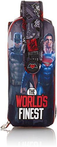 Batman & Superman 273268, Sac à dos loisirs garçon Noir Noir 25 cm