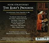 Stravinski : Rake's Progress. Schwarzkoph, Kraus, Tourel, Stravinski.