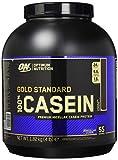 Optimum Nutrition Gold Standard Casein- Protein Pulver (mit Glutamin und Aminosäuren. Eiweisspulver von ON) Chocolate Supreme, 53 Portionen, 1,82kg