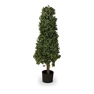 Buchsbaum Kunstpflanze BENJAMIN Kunstbaum, Buxbaum, künstlicher Buchsbaum mit Naturstamm in versch. Größen