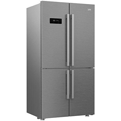 Beko GN1416232ZX Freestanding 541L A++ Stainless steel side by side refrigerator Side By Side Fridge Freezers