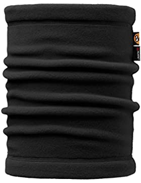 original buff polar neckwarmer buff® solid negro - neckwarmer buff para unisex, color multicolor,  adulto