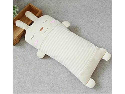 Godlife Almohada de bebé Baby Pillow New Born Baby Almohada de algodón y Cuello Suppor Sleeping Cushion (Rabbit) para Dormir