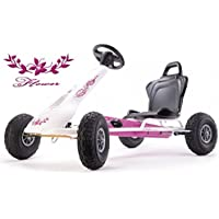 Ferbedo Air Racer Flower white / pink with sound box
