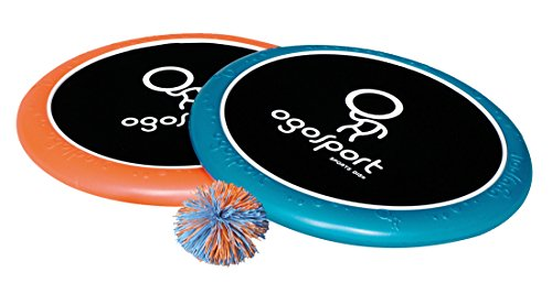 Schildkröt Funsports Softdisc Ogo Sport Set, Standardgrösse, blau, orange, durchmesser 29 cm, 970090