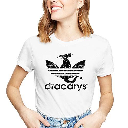 en,Teenager Mädchen Tops Sport Baseball Shirt Game of Tshirts Thrones Mode Frauen Kurzarm Oberteile Sommer Casual Hemd Blusen T Shirt Crop Top Sale (8,L) ()