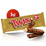 Twix -Présentoir de 7 sachets de 2 barres