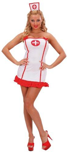 Widmann 59061 - Kostüm Krankenschwester, Kleid und Haube, Gröe S