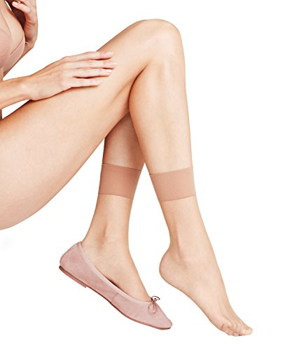 FALKE Damen Socken Shelina 12 den SO, Gr. 35/38, Beige (sun new)
