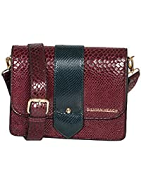 Shoulder Bag Lubrin, Womens Cross-Body Bag, Rosa (Pink), 4x28x40 cm (W x H L) Silvian Heach