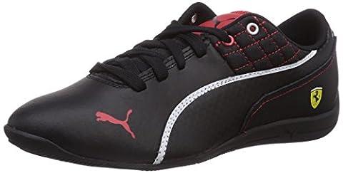 Puma Drift Cat 6 L Sf 305179/06, Baskets mode garçon - Noir (Black/Black/Rouge), 29 EU