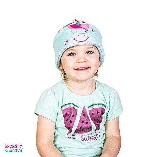 Snuggly Rascals SR1-UNI Bequeme und größenverstellbare Stirnband-Kopfhörer für Kinder blau (Ohr Schwein Stirnband)