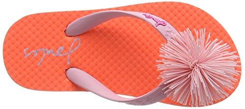 Tom Joule Mädchen Jnr Girls Flipflop Sandalen Orange (Bright Orange)