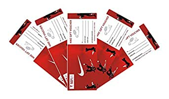 Nike Gift Voucher -Rs. 500, Pack of 5,000