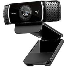 Logitech C920 HD Pro Webcam – Videogespräche und Videoaufnahmen in Full HD mit 1080p und zwei Stereo-Mikrofonen – Schwarz