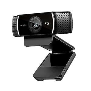 Webcam Logitech C920 HD Pro: appels et enregistrements vidéo en haute définition 1080p avec deux micros stéréo - Noir