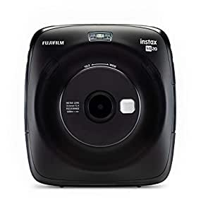 Fujifilm Instax Square SQ20 Fotocamera Istantanea e Digitale con Micro SD, Registra Video e Stampa in Formato Quadrato 62x62 mm, Nero