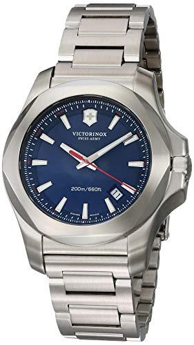 Victorinox Swiss Army Herren Analog Quarz Uhr mit Edelstahl Armband 241724.1 (Herren Watch Swiss Army)
