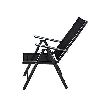 Buy Deuba 4x Garden Dining Chair Bern Folding Chairs Set