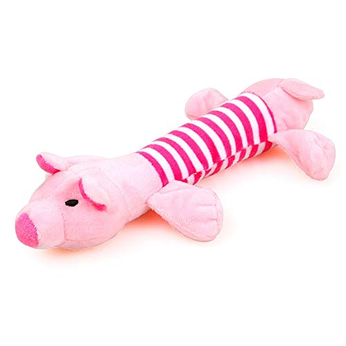 Spielzeug Hundespielzeug, lustiger Elefant Ente Schwein Will Hundespielzeug, Sizzling und Durable Hundespielzeug for Haustier-Unterhaltung Increase Happiness (Color : Pig, Size : 1 pcs) -