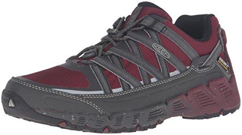 Keen Versatrail WP - Chaussures de randonnée Femme - gris/rouge 2016 chaussures de montagne Zinfandel/Magnet