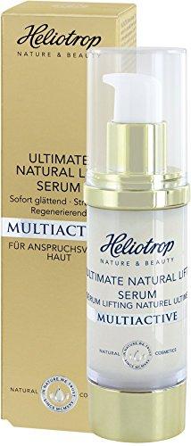HELIOTROP Naturkosmetik MULTIACTIVE Ultimate Natural Lift Serum, 7-Effekt Hyaluron, Für eine spürbar gestraffte Haut, Jugendlicheres...