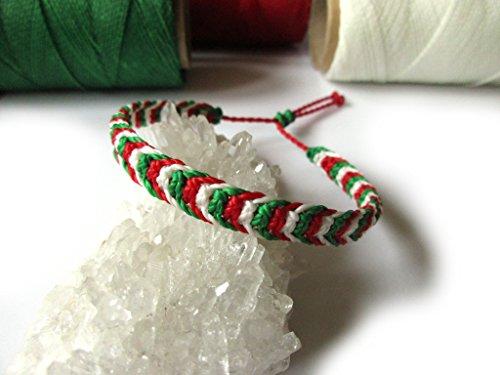 bracelet bresilien couleur italie