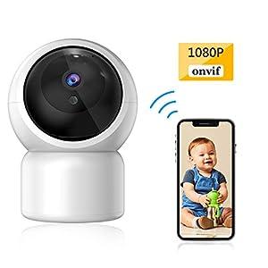 Baby Camera 1080P IP Camera, JUMPER WLAN Security Camera Pan/Tilt ONVIF IP Cam P2P Network Camera Baby Monitor 2 Way Audio IR-Cut Night Vision Motion Detection   12