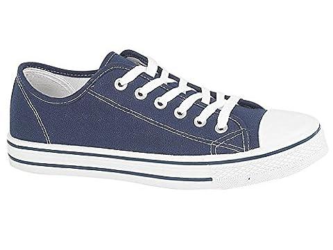 Foster Footwear , Baskets mode pour femme 0 - Bleu - bleu marine, 37
