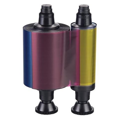 R3011 Evolis YMCKO Color Printer Ribbon - 200 prints, Fournitures de bureau