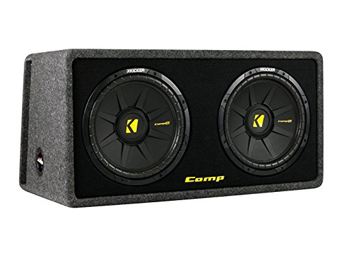 Kicker DCompS12-2x30 cm Dual Bassreflex Subwoofer Kicker Subs