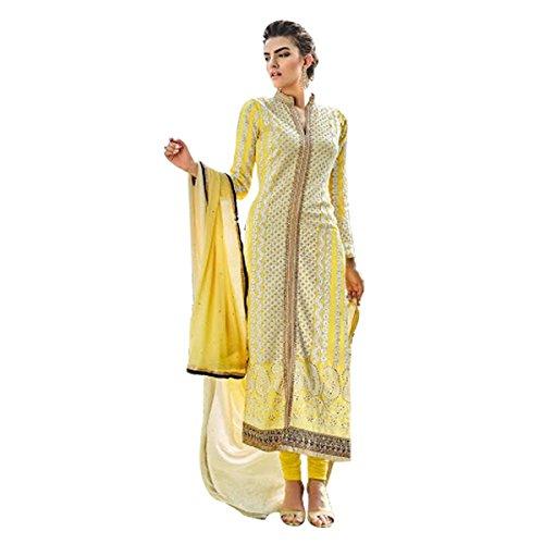 Ethnic Bollywood Prachi desai Pakistani Straight Shalwar Salwar Kameez Suit Wedding Eid...