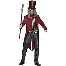 Disfraz de domador del circo psicótico rojo M / L
